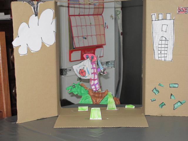 Fabriquer-castelet-theatre-en-carton