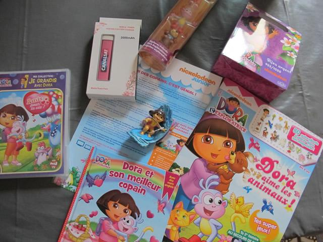 goodies dora l'exploratrice