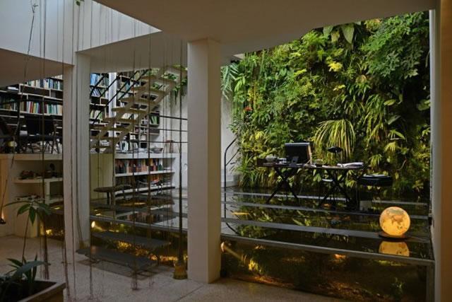 mur végétal bureau