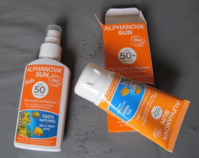 crème solaire alpha nova
