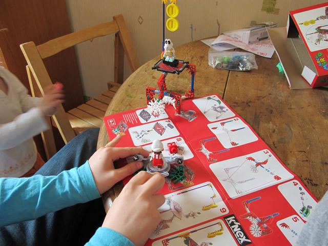 jeu de construction K'Nex 2014