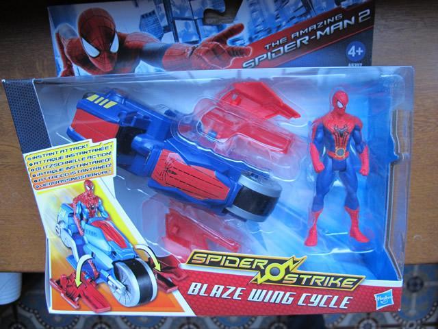 figurines spiderman le film