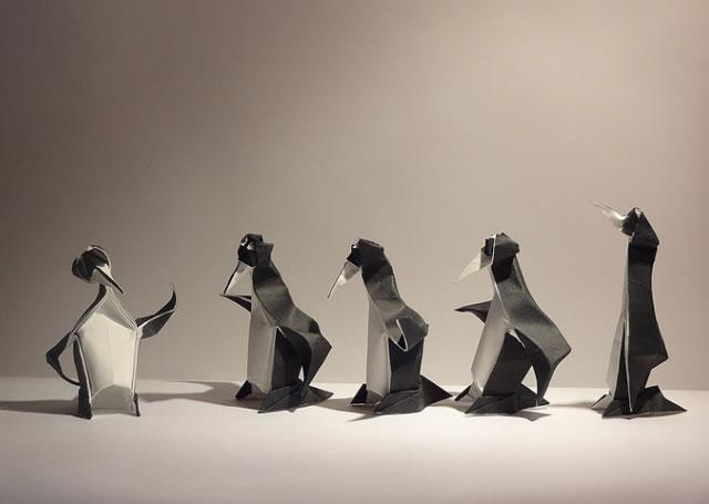 pinguin origami