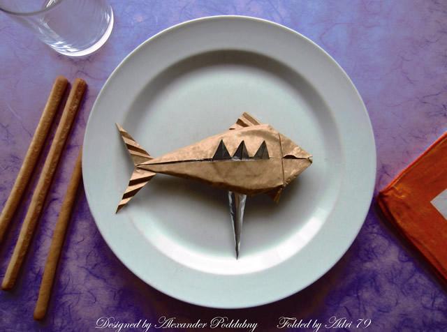poisson-frit-pliage-papier