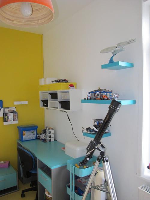 etagere chambre garcon papa blogueur. Black Bedroom Furniture Sets. Home Design Ideas
