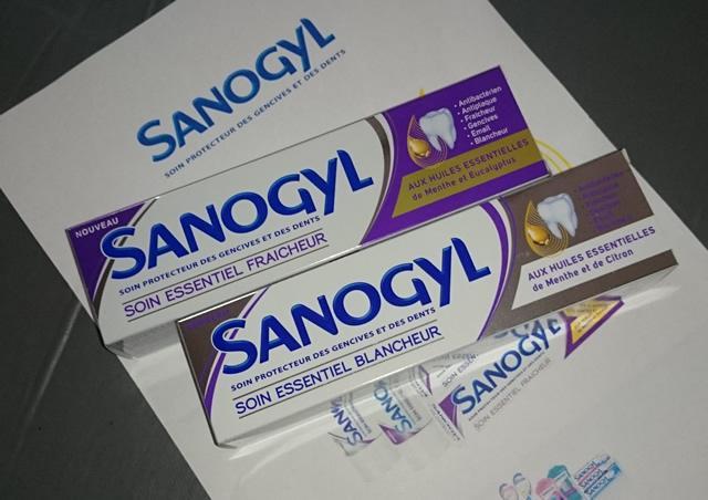 sanogyl dentifrice aux huiles essentielles