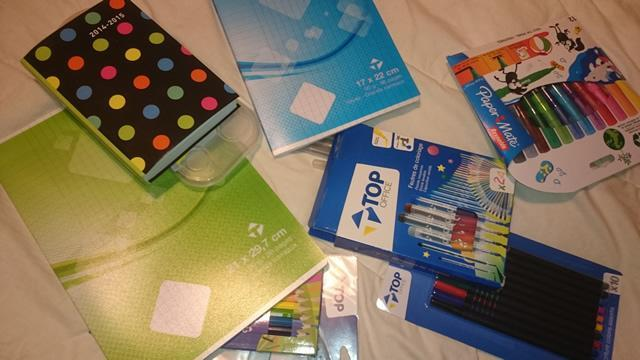 fournitures scolaires top office