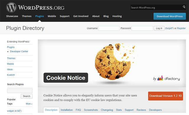 cooki notice plugin wordpress