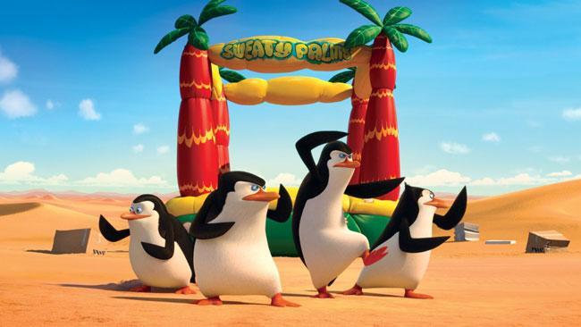Les pinguoins de Madagascar Agent secret
