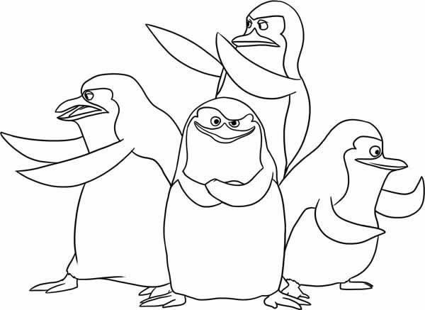 madagascar coloring pages - photo #27