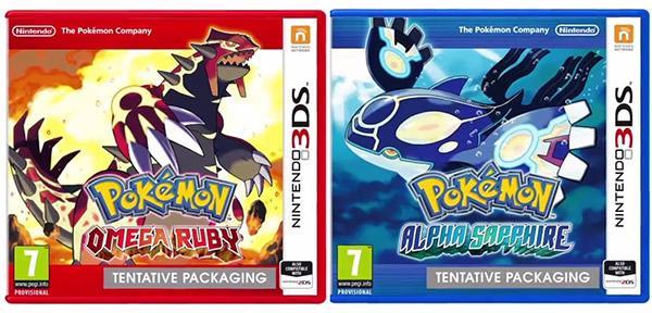 jeu 3ds pokemon saphir rubis