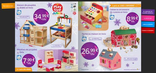 Lidl des jouets en bois pour des prix mni no l 2014 for Cuisine bois lidl