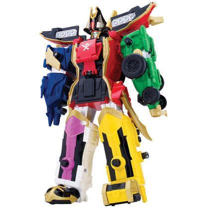 megazord power rangers super mega force