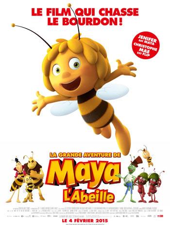 Affiche film maya l'abeille