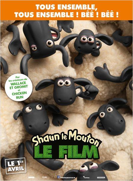 affiche shaun le mouton le film