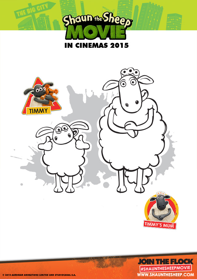 film-shaun-mouton-coloriage