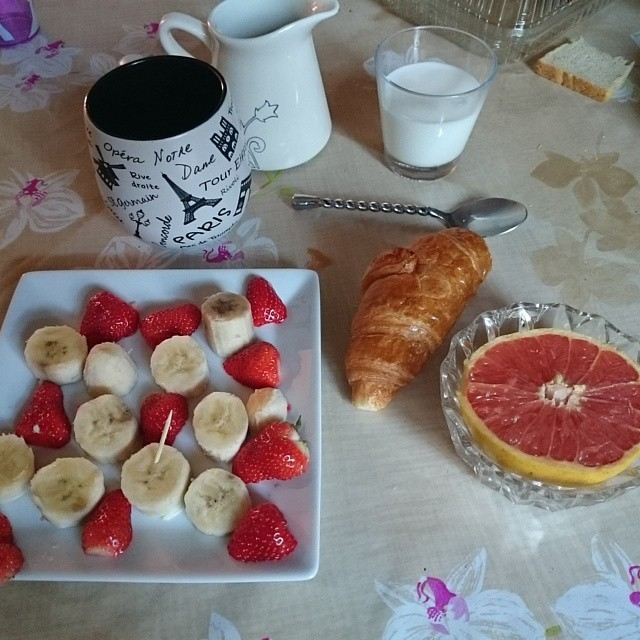 petit déjeuner weight watcher