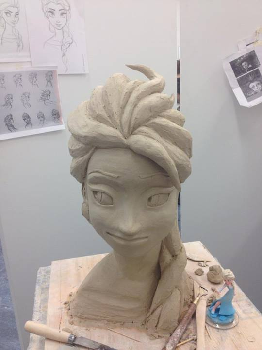 sculpture-elsa-frozen