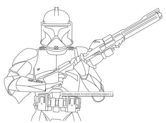 Coloriage star wars imprimer - Coloriage clone star wars ...