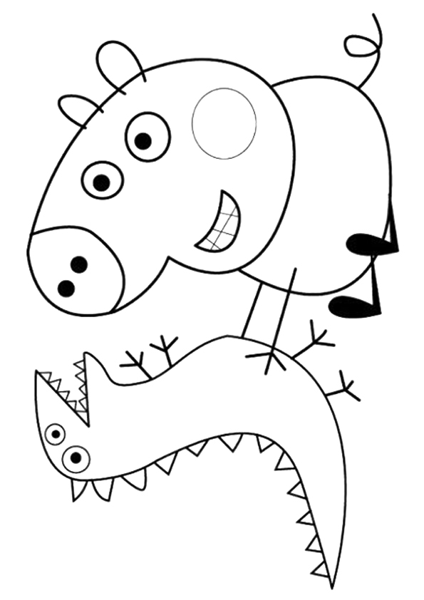 Coloriages gratuits peppa pig for Peppa pig coloring pages pdf