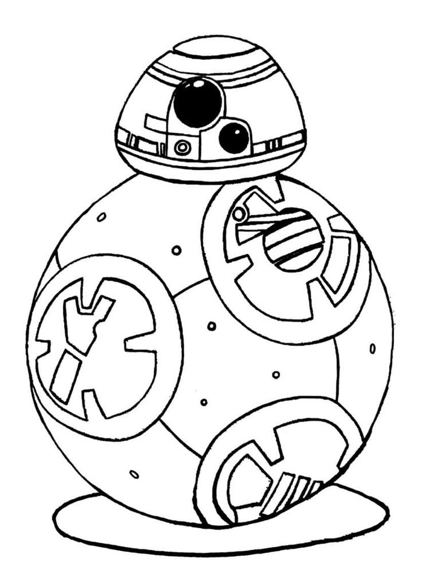 Coloriage Star Wars à imprimer