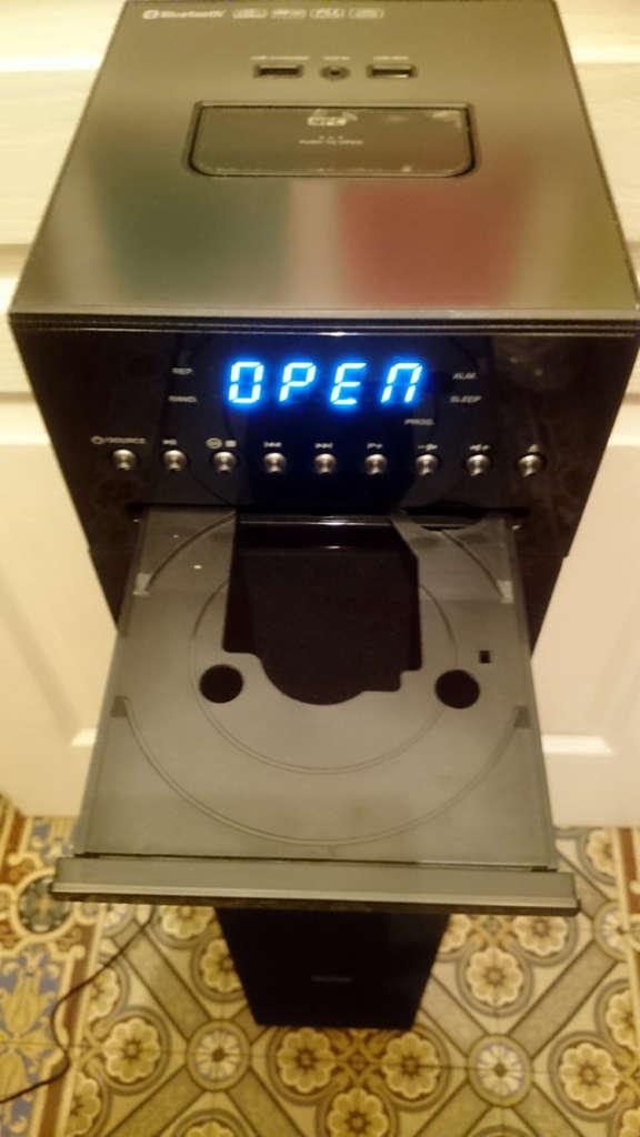 papa teste la tour enceinte bluetooth sans fil muse m 1350 btc papa blogueur. Black Bedroom Furniture Sets. Home Design Ideas