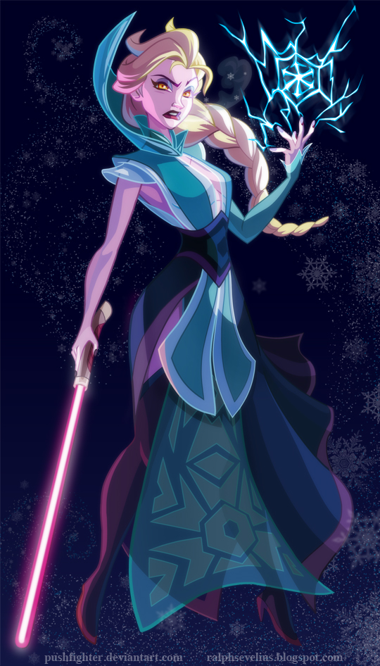 sith-princesse-elsa-pushfighter