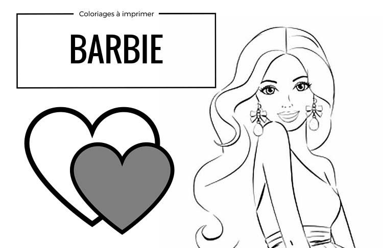 Coloriages Gratuits A Imprimer Barbie