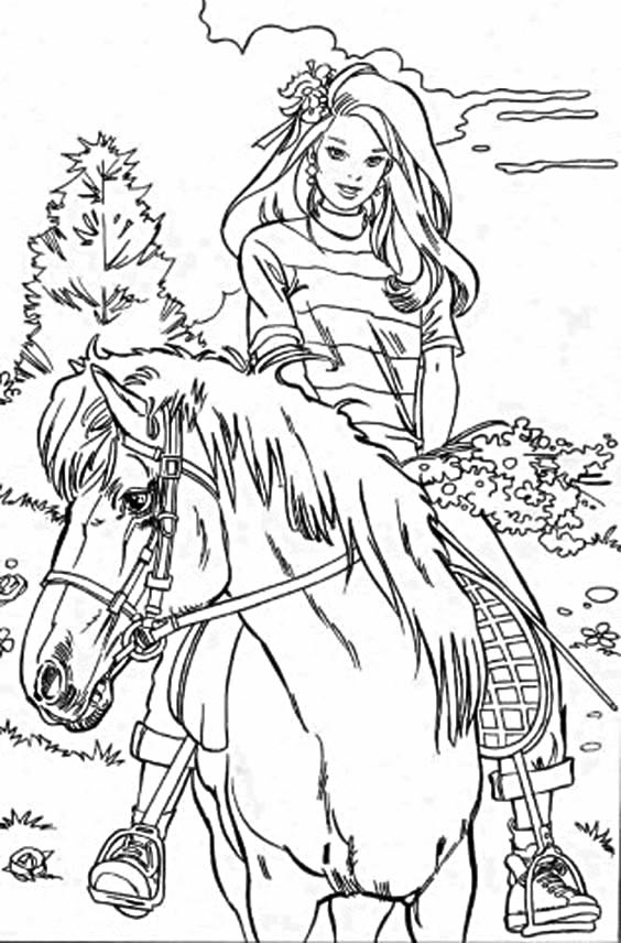barbie-horse-coloring-page