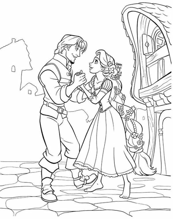 disney coloring pages tangled rapunzel - photo#18