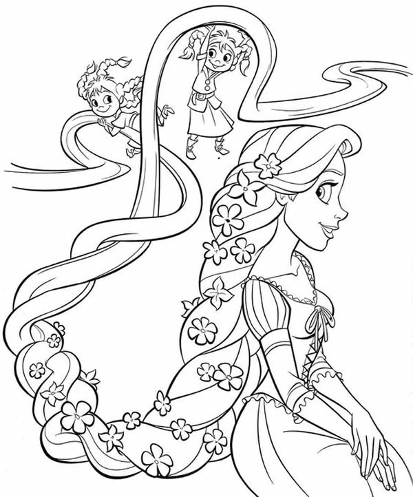 free-printable-rapunzel-coloring-page