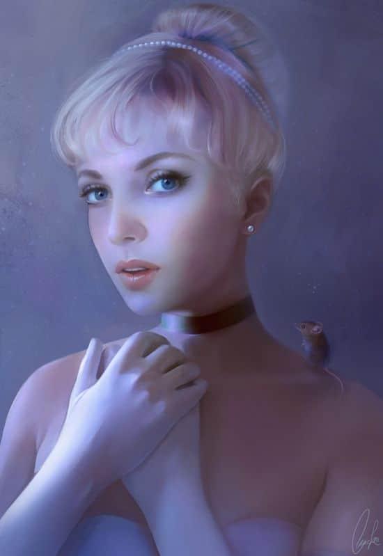 princesse-disney-realiste-Claire-Lena-McKinley-cendrillon