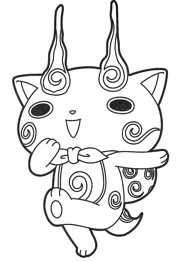 coloriage-gratuit-yokai-watch-01