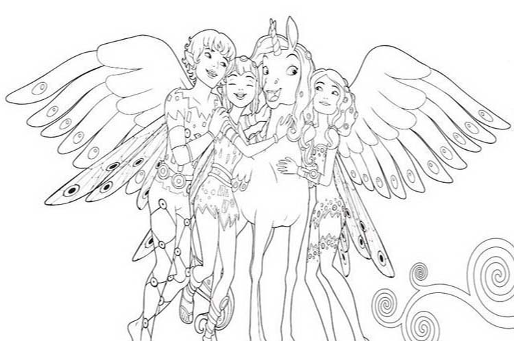 coloring-page-free-mia-and-me-02