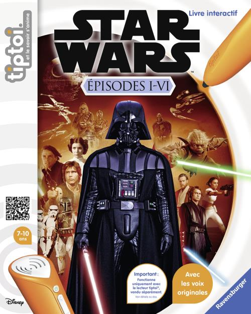 tiptoi StarWars Episode I-VI