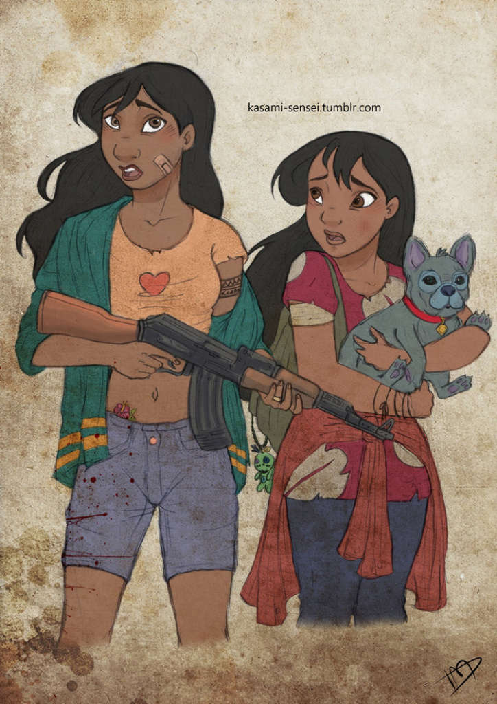 the_walking_disney_nani__lilo_and_stitch_by_kasami_sensei
