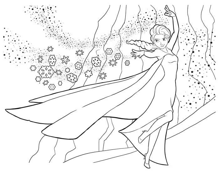 dessin-coloriage-reine-des-neiges