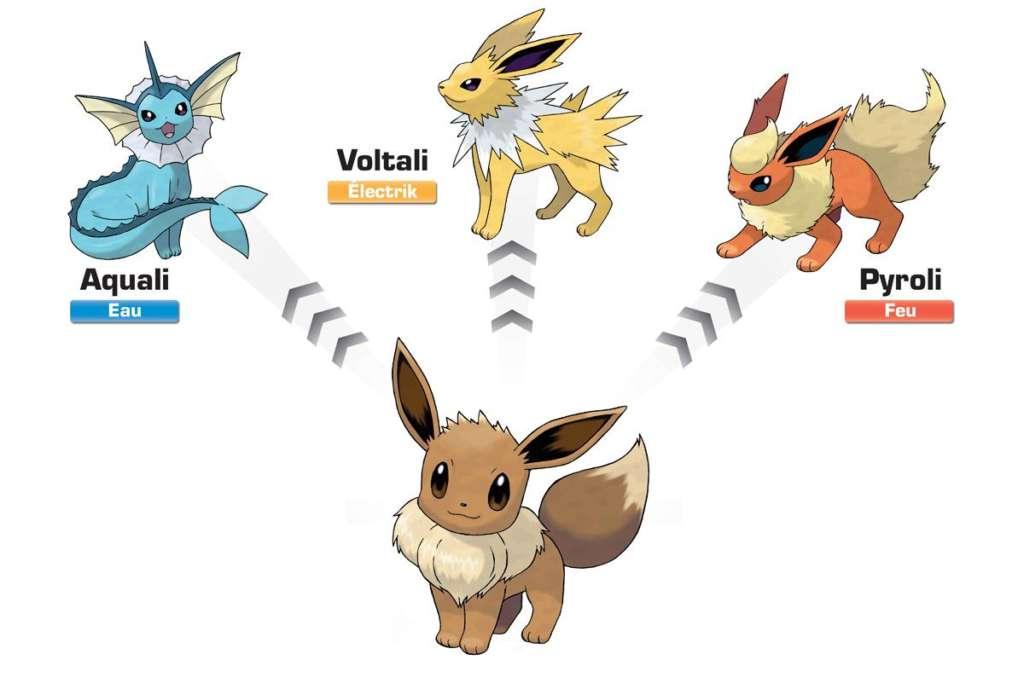Coloriage xerneas coloriage famille evoli - Famille evoli pokemon ...