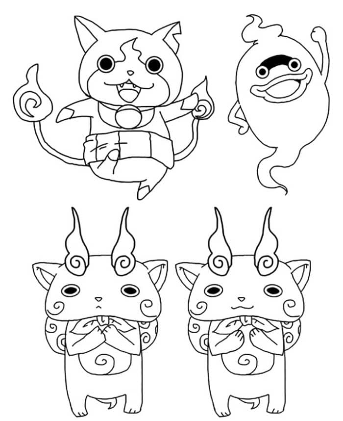 yokai-watch-dessin