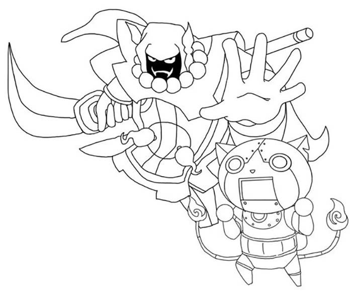 youkai-watch-coloriage