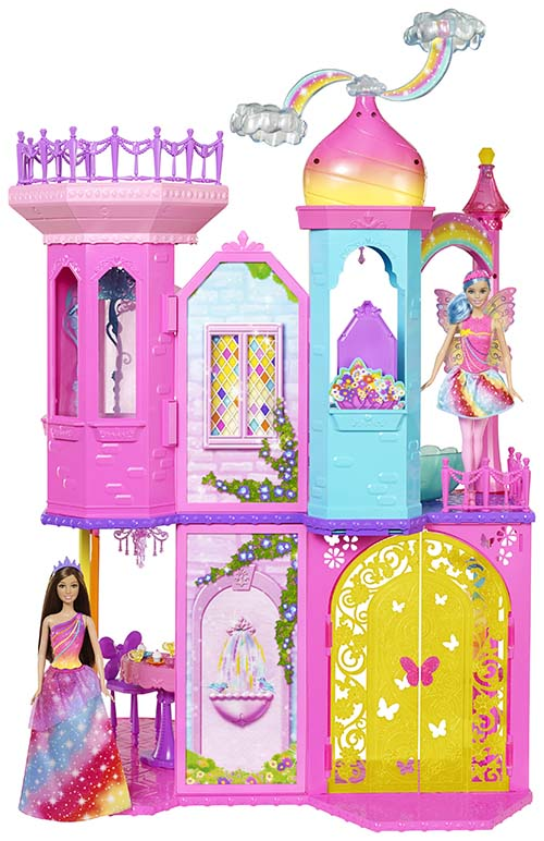 barbie-chateau-arc-en-ciel