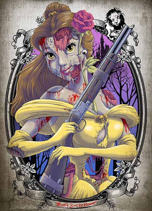 the_zombie_belle_white_princess_by_clocktowerman