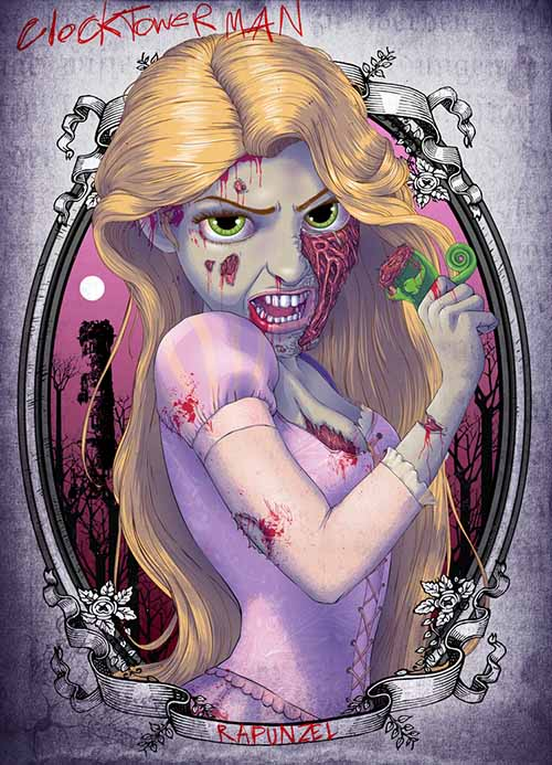 the_zombie_rapunzel_princess_by_clocktowerman