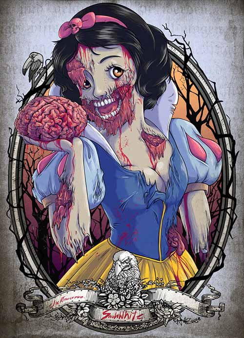 the_zombie_snow_white_princess_by_clocktowerman