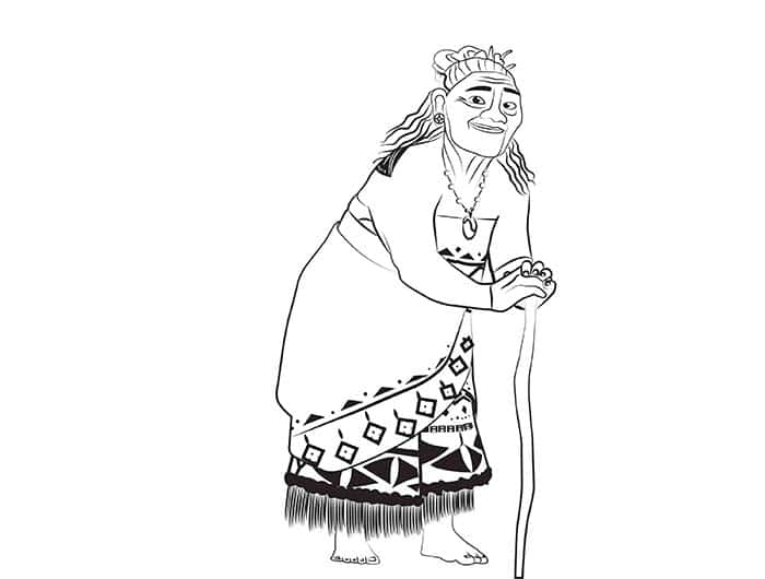 Te Fiti Moana Coloring Pages Coloring