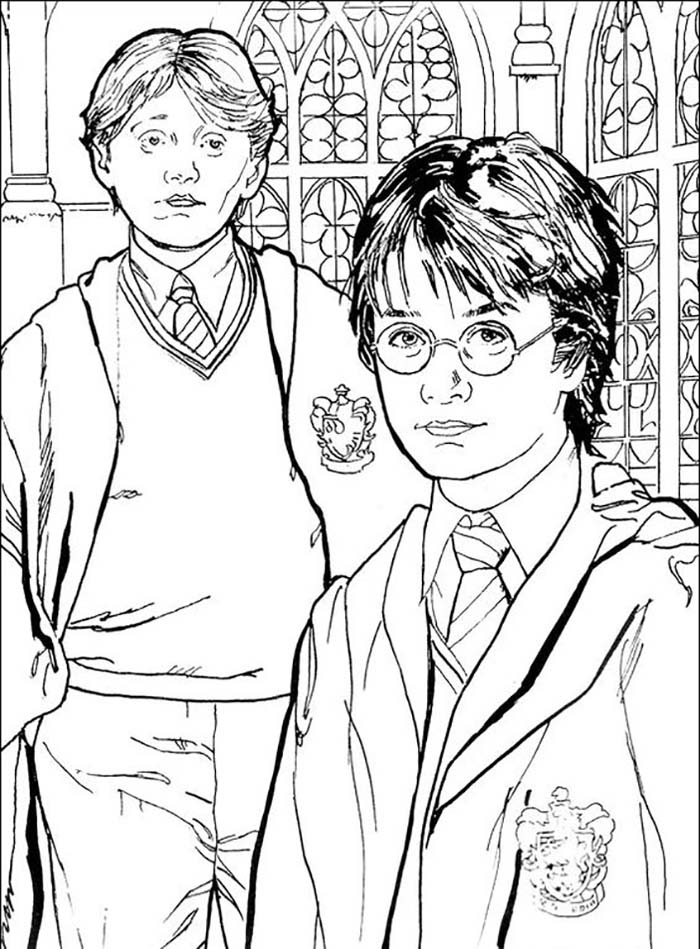 Coloriages A Imprimer Harry Potter