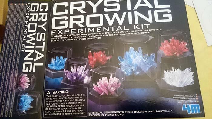 laboratoire des cristaux