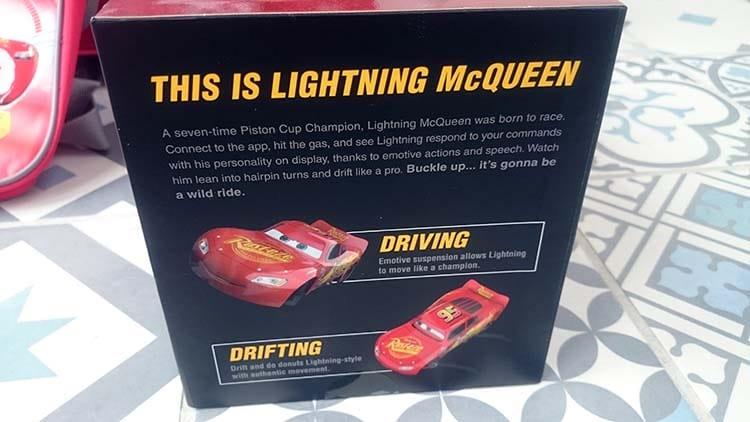 voiture télécommandé SPHERO flash mac queen