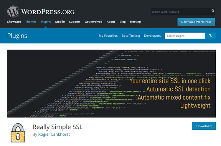 Really sample SLL - Plugin wordpress rediriger les pages chargées en HTTP vers HTTPS