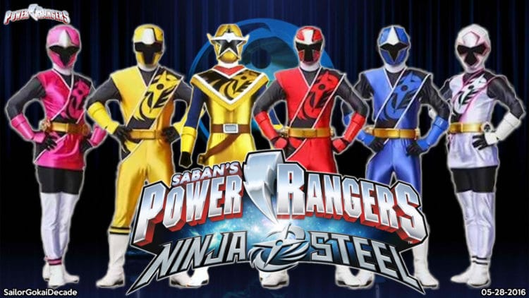 Megazord Power Rangers Ninja Steel